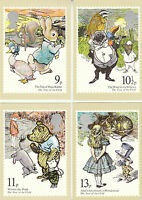 U.K.  POST  OFFICE  -  SET  OF  4  U.N.  YEAR  OF  THE  CHILD  CARDS  -  1979
