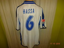 Karlsruher SC Original Jako Matchworn Trikot 2003/04 + Nr.6 Hassa Gr.XL TOP
