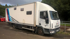 Race truck motor home race transport race cars