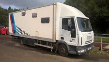 Race truck motor home race transport