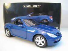 Mercedes-Benz SLK-Klasse  2004 in blau   Minichamps  1:18  OVP  NEU