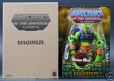 2015 MOTU Sssqueeze Squeeze MOTUC Masters of the Universe Classics MOC