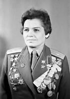 OLD LARGE PHOTO Aviation History WWII Soviet Night Witches, Marina Chechneva
