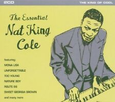 Nat King Cole Essential 2-CD NEW SEALED Mona Lisa/Unforgettable/Nature Boy+
