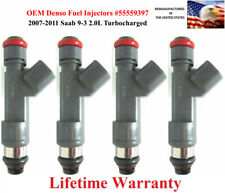 Genuine Denso Fuel Injector 4X for 07 08 09 10 11 SAAB 55559397