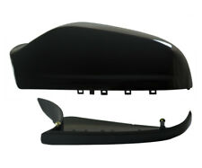 Vauxhall Astra H MK5 04-09 Wing Mirror Cover & Lower Holder LHS Black Sapphire
