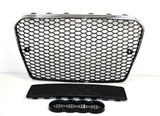 FÜR AUDI A5 8T RS5 LOOK RS KÜHLERGRILL SPORTGRILL WABENGRILL GRILL 12-16