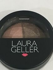 "LAURA GELLER Baked Marble Shadow Duo in ""FRESCO/SABLE"" Full-Sized 1.8g-New!"