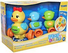 TOMY Pre-school Toys Quack Along Ducks Children Learn Hand Eye Coordination