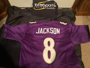 Baltimore Ravens Lamar Jackson CUSTOM XL Jersey Louisville