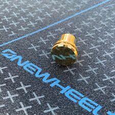 OneWheel Gold Metal Charge Port Cover Charger Protection Cap Plug Plus XR New