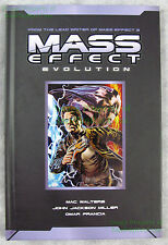 Mass Effect Evolution Hardcover Dark Horse Limited Edition (2,000) NEVER READ!