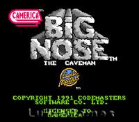 Big Nose The Caveman - Rare NES Nintendo Game