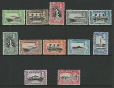 St Lucia 1936 Complete set SG 113-124 Mint.