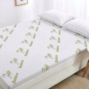Bamboo 4CM, 2CM Topper Luxury Quality Cosy Bed Mattress Ultra-Soft or Pillow