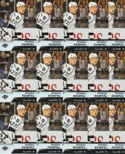 SHELDON REMPAL 15 CARD RC LOT 18-19 UPPER DECK AHL HOCKEY ROOKIE #75 KINGS REIGN