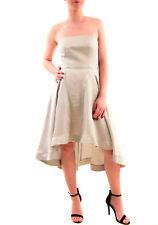 Keepsake Women's With You Midi Dress Strapless Pale Grey Size S RRP $120 BCF76