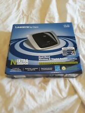 458Linksys WRT320N MEGA DD-WRT Wireless-N Gigabit Repeater Bridge Range Extender