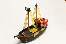 PLAYMOBIL grande nave pirata giocattolo molto divertente BARCA VELE ROSSO PARTI RICAMBI