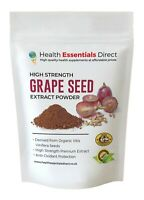 Grape Seed Extract Powder (High Strength Anti-oxidants 95% OPC) Choose Size
