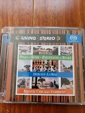 Living Stereo SACD Respighi Pines of Rome Debussy Reiner/Chicago - perfect