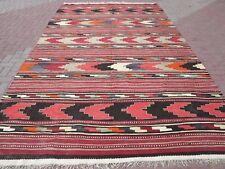 "Anatolian Turkish Antalya Nomads Kilim 89,3""x154,7"" Area Rug Kelim Carpet Wool"