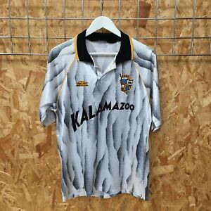 Port Vale Valiant Leisure Home Shirt 1991/1992 MEDIUM-LARGE M L  Vintage Top Kit