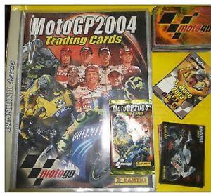 Motogp 2004 PANINI Complete Set Of 200 Cards + Album / Binder Mint Rare