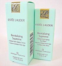 Estée Lauder Revitalizing Supreme Global Face Cream 5ml + Eye Balm 3ml - Bnib