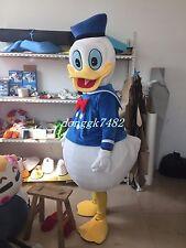 New Donald Duck Mascot Costume Halloween Fancy Dress Free Shipping Adult Size