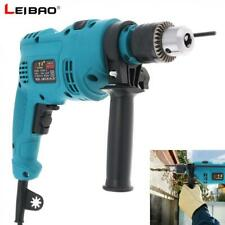 550W Handheld Impact Electric Pistol Drill 13mm Drill Chuck for Handling Screws