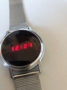 Timeband by Fairchild Vintage LED Digital Uhr 70er Jahre Unisex
