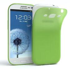 Schutz Hülle für Samsung Galaxy S3 / Neo Cover Handy Case Matt Grün
