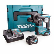 Makita HR140DSMJ 10.8V SDS Rotary Hammer With 2 x 4Ah Batteries Charger & Case