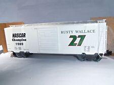Weaver 5463 Rusty Wallace #27 Box Car