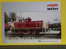 Catalogue MARKLIN Exclusiv 2004 D -- Etat : neuf - Pages 8