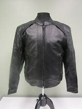 Tour Master Jacket Coat Distressed Biker Moto Removable Lining Vintage Mens S/40