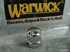 Warwick Chrome Knob For Stacked Pots Tone Volume Thumb Streamer Bass Parts