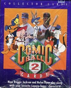 Looney Tunes Comic Ball Series 2 Vintage Card Box 36 Packs Upper Deck 1991
