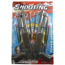 Kids Toy Shotgun Set with Plastic Shooting Darts Toy Set & Halloween Accessory