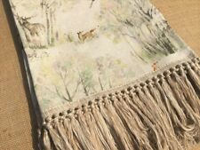 NEW Voyage Maison 100% Linen Enchanted Forest Throw / Blanket.  Best Prices!!