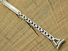 Unused NOS Sternite Vintage Watch Band 9mm Stainless Steel Ratchet Deployment