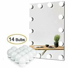 Vanity Lights Mirror, Diy Hollywood Lighted Makeup Dimmable Lights, Stick On Led