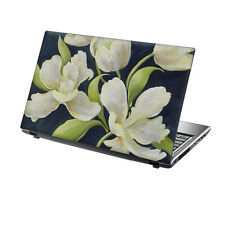 """15,6 """"TaylorHe Laptop Vinile Adesivo Decalcomania protezione copertura BIG FLOWER n1674"""