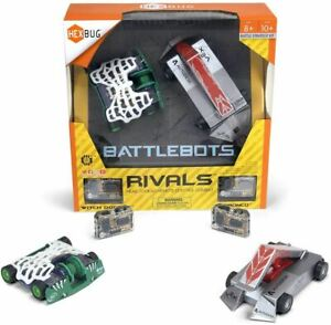 HEXBUG BattleBots Rivals (Witch Doctor and Bronco) Toy Kids Battle Bot Hex Bugs