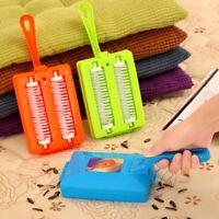 Plastic Handheld Carpet Table Sweeper Crumb Dirt Brush Cleaner Collector S0V9