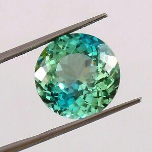 AAA Natural Bi-Colour Ceylon Parti Sapphire Loose Round Gemstone Cut 34.30 Ct
