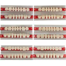 Tooth Denture Dental Teeth Shade G30/G32/G34  A2 A3 Sets Acrylic Resin Posterior