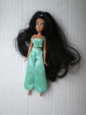 """Tienda Disney Princesa Jasmine Mini 5.5"""" (14 Cm) Muñeco Original Traje Aladdin Girl"""