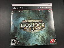 BioShock 2 -- Special Edition (Sony PlayStation 3, 2010)